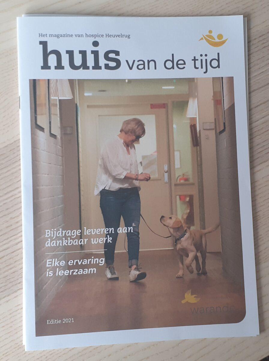 Magazine hospice, huis van de tijd 2021